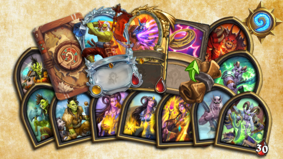 Diamond Cards and new Reward Track coming to Hearthstone