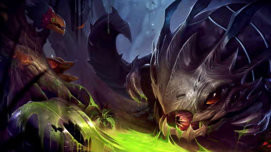 League of Legends giving a visual update to Kog'Maw