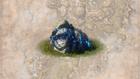 Where to find Starmetal Veins for Starmetal Ore in New World