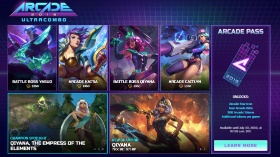 Lol League Of Legends Arcade 2019 Ultracombo Skins