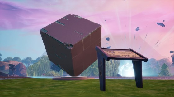 Visit A Memorial To A Cube To Complete Fortnites New Weekly