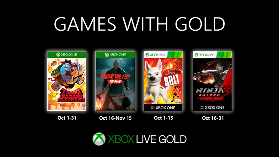 October S Free Xbox Live Games With Gold Revealed Millenium