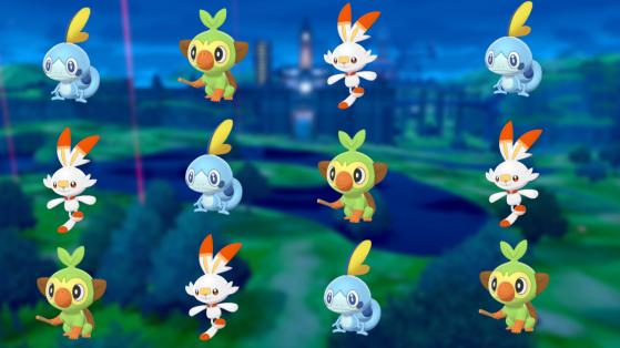 Pokemon sword shield starters