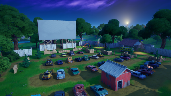 Fortnite Guide Lonely Recliner Radio Station And Outdoor Movie Theater Locations Millenium