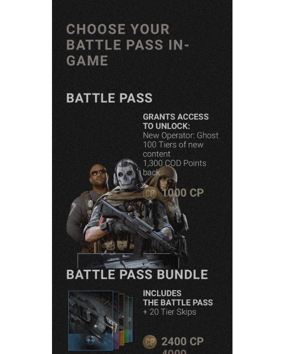 Call Of Duty Modern Warfare Season 2 Battle Pass Season Pass Millenium