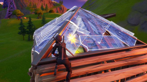 Fortnite: a bug makes it possible to take over enemy buildings
