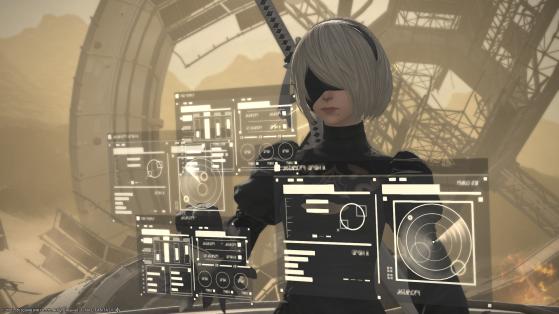 FFXIV Puppets' Bunker Guide Nier Automata 2 Alliance Raid