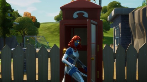 Fortnite: Use a Phone Booth, Mystique Awakening Challenge