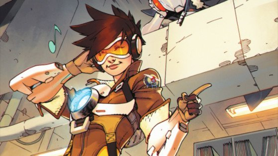 Overwatch: Exclusive Tracer London Calling Comic Book Revelation