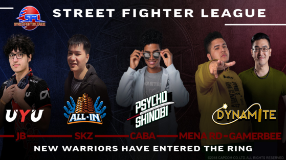 Street Fighter League US: Multiple player replacements take place