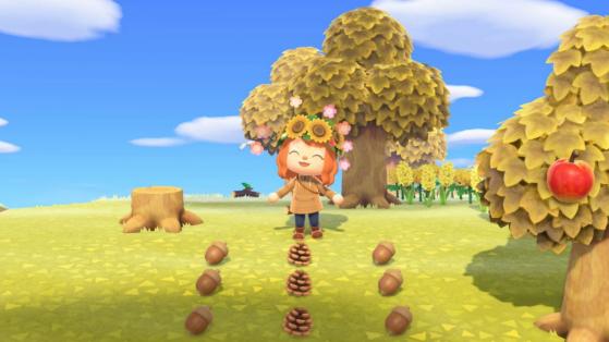 Pine Cone Acorn Diy Recipes List In Animal Crossing New Horizons Millenium