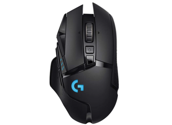 The G502 gaming mouse. Image Source: Logitech - Millenium