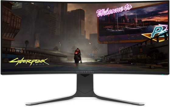 The Curved AW3420DW. Image Source: Alienware - Millenium