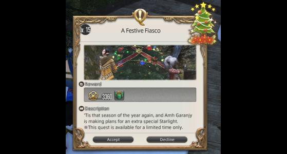 FFXIV Starlight Celebration Festive Fiasco - Final Fantasy XIV