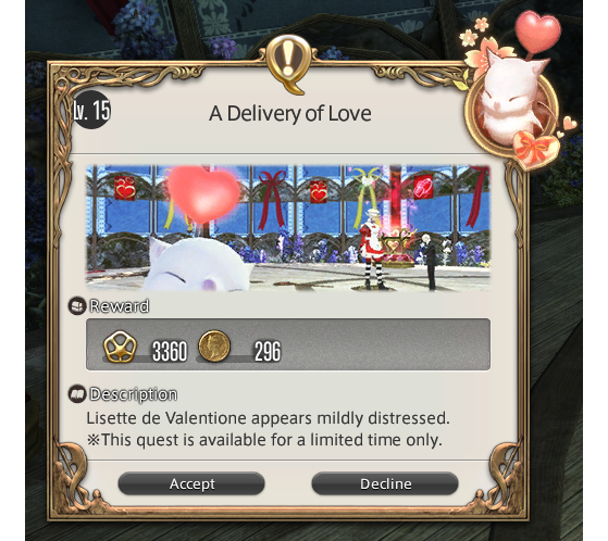FFXIV A Delivery of Love - Little Ladies Day - Final Fantasy XIV