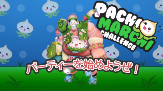 New Roadhog skin in Overwatch's PachiMarchi event