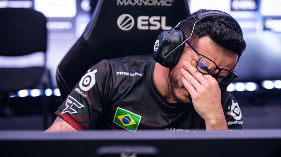 FaZe Clan benches coldzera after another disappointing result for the team