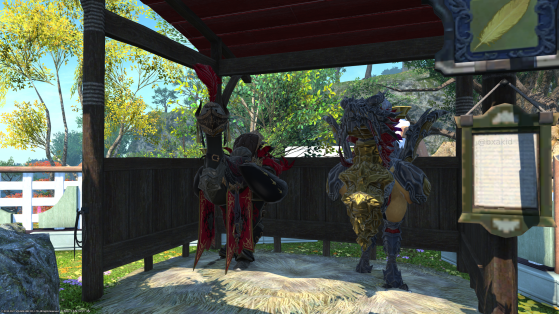 Guide: How to change the color of your Chocobo in FFXIV