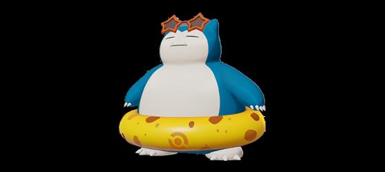 Beach Style: Snorlax - Pokémon Unite