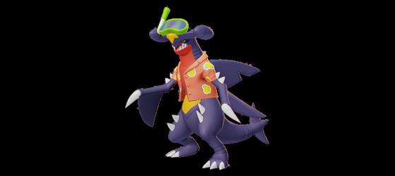 Beach Style: Garchomp - Pokémon Unite