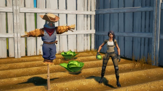 Fortnite Week 4 Challenge: Forage for food, need supplies
