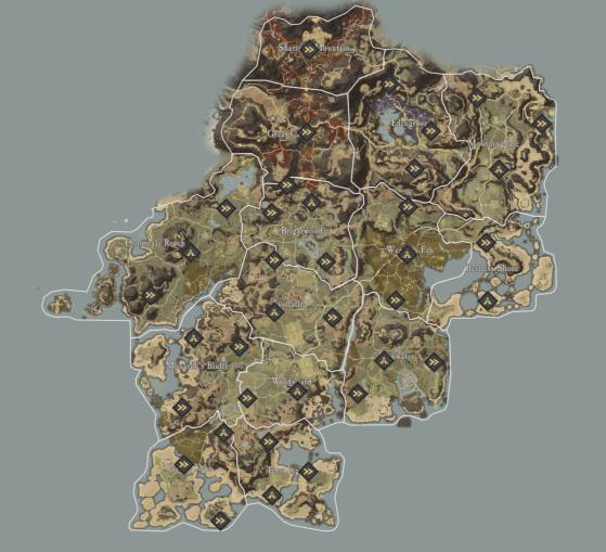 Image: MapGenie - New World