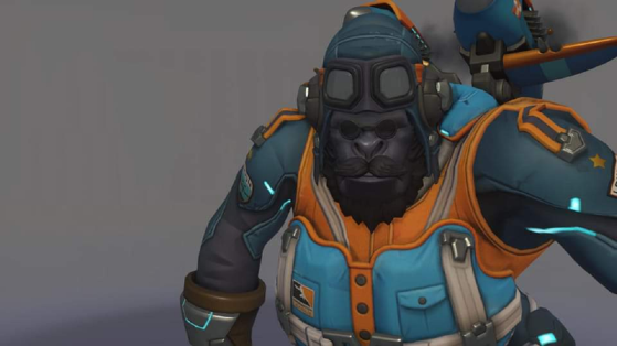 A London Spitfire Winston skin in honor of the OWL Season 1 Champs