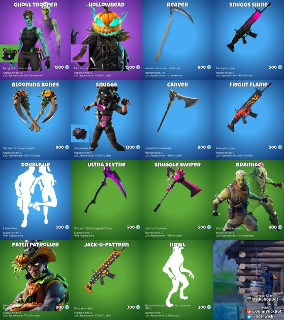 Fortnite Halloween Dance 2020 Fortnite: Ghoul Trooper and Hollowhead are your Fortnite Item Shop