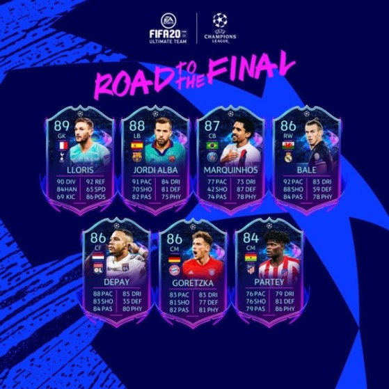 fut 20 road to the final evolving rttf champions league and europa league cards revealed millenium europa league cards revealed