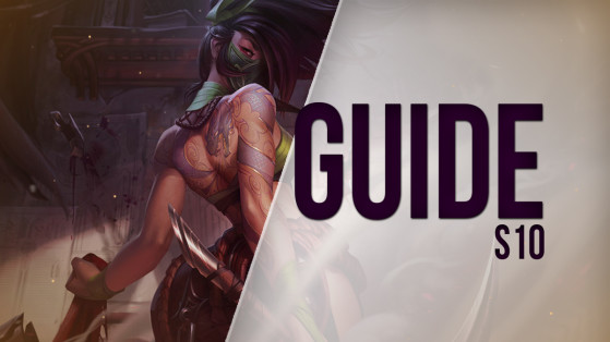 LoL Guide, Build for Akali, Top, S10