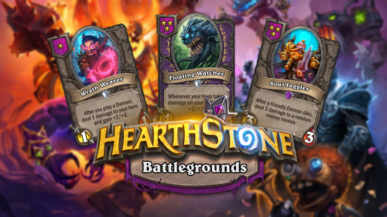 Hearthstone Battlegrounds Demons nerfs are live