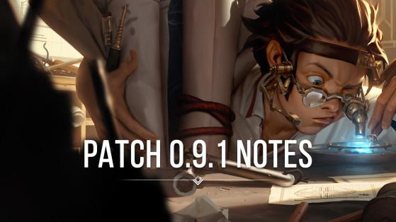 Legends of Runeterra Patch 0.9.1 notes: Minion guardian, Jinx and Garen boards