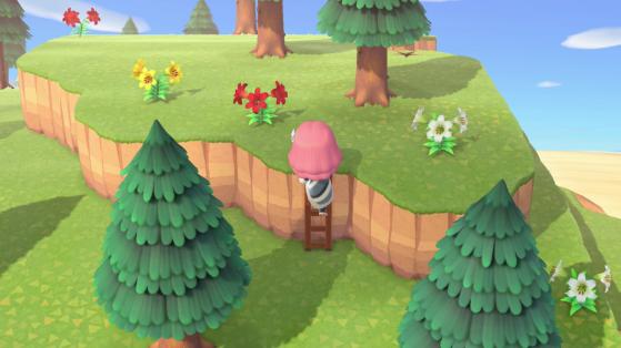 Animal Crossing: New Horizons: Unlocking the Ladder