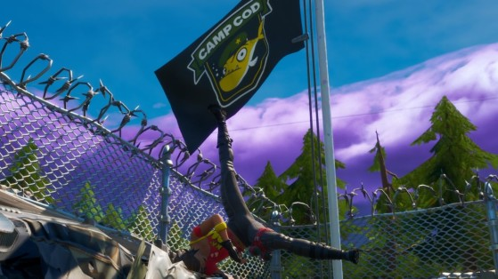 Fortnite Meowscles Mischief: Lake Canoe, Camp Cod, and Rainbow Rentals locations