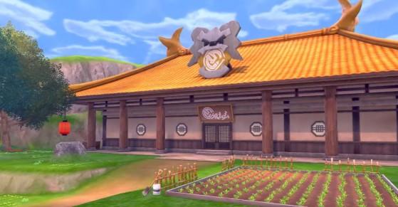 The Isle of Armor Dojo - Pokémon Sword and Shield