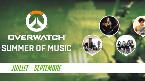 Overwatch Teams Up With Talented Creators for Summer of Music