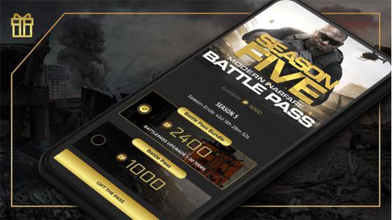 Modern Warfare Warzone: Give a battle pass to a friend via the Companion app