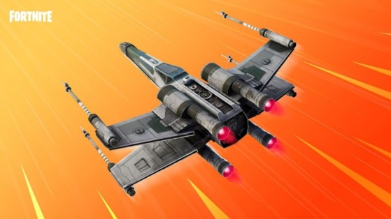 Fortnite x Star Wars: X-Wing Glider available in the Item Shop