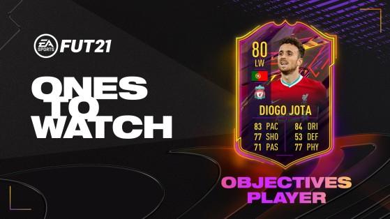 FUT 21: Diogo Jota OTW Objectives