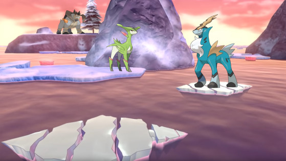 How to catch Cobalion, Terrakion, and Virizion in Pokémon Sword and Shield