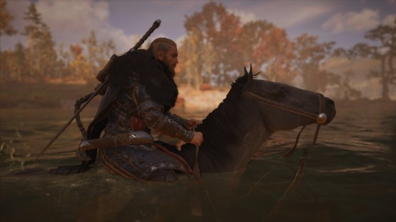 Upgrade your mount at the stable in Assassin's Creed Valhalla