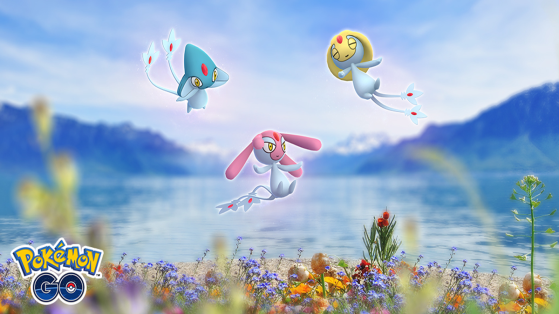 Uxie, Mesprit, and Azelf return for a limited time in Pokémon GO raids