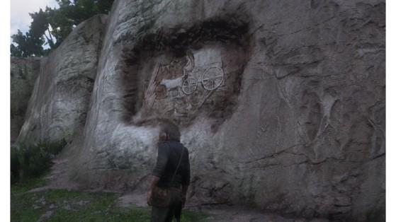 Guide Red Dead Redemption 2 : Rock sculptures, rock carving