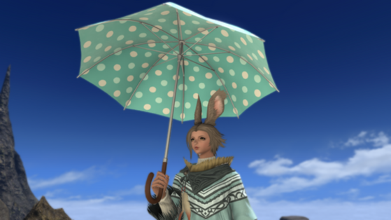 FFXIV 5.41 How to get the Pastoral Dot Parasol Guide