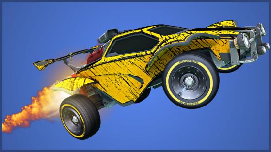 Tier 51-60 rewards - Rocket League