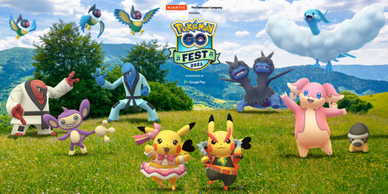 Pokémon GO Fest 2021 will have in-person celebrations in selected cities