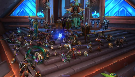 WoW players stage sit-in after Blizzard allegations