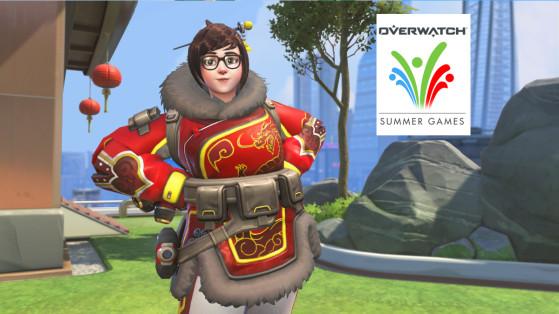 Overwatch 2020 Summer Games.Overwatch Summer Games 2019 Weekly Skins Event Millenium