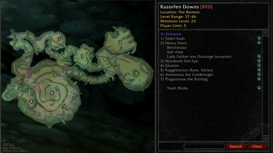 WoW Classic: Razorfen Downs Dungeon Guide - Millenium