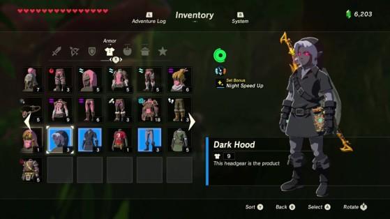 Zelda Botw Guide Getting The Dark Link Set Millenium